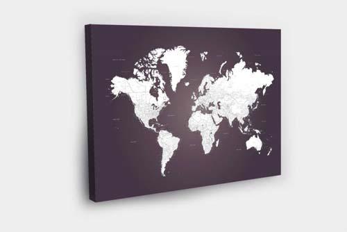 BR -PinAndTravel (3) - imprimera.shop- Pinandtravel-žemėlapiai su smeigtukais-svajonių žemėlapis-zemėlapis ant drobės-naturali drobė-žymėk savo svajones- Pin And Travel-