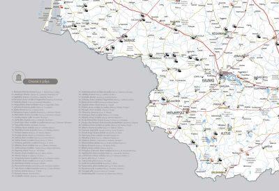 Lietuvos žemėlapis su smeigtukais, žemėlapis ant drobės, Lietvos zemelapis ant drobes, Pin and travel, Push pin map, Lithuania canvas map, Detalus lietuvos zemelapis-2012