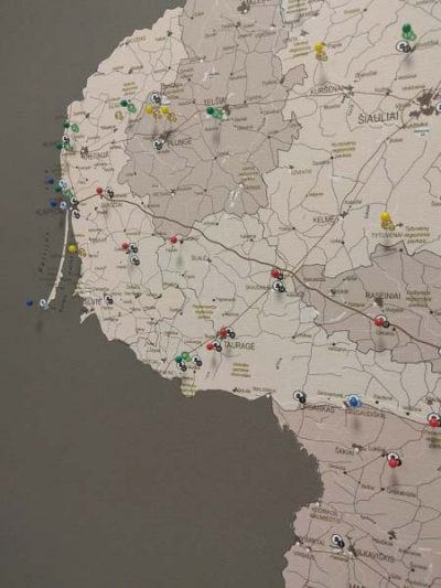Lietuvos žemėlapis su smeigtukais, žemėlapis ant drobės, Lietvos zemelapis ant drobes, Pin and travel, Push pin map, Lithuania canvas map, Detalus lietuvos zemelapis-33
