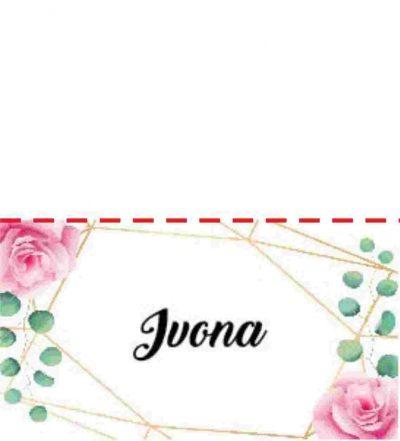 Stalo kortele, Stilingos stalo kortelės - mažas bet svarbus stalo dekoro ir šventės stiliaus akcentas. Imprimera.shop22