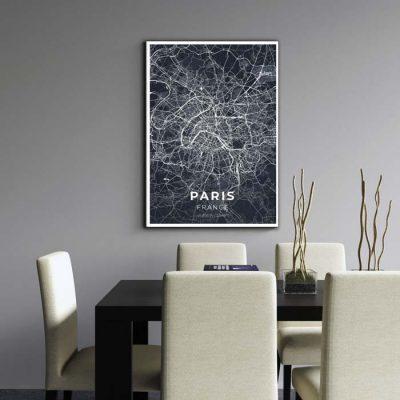 Miestų žemėlapiai, city map, canvas map, canada city canvas, miestas ant drobes, Dekoracija ant sienos, miestu zemelapis (11 of 27)