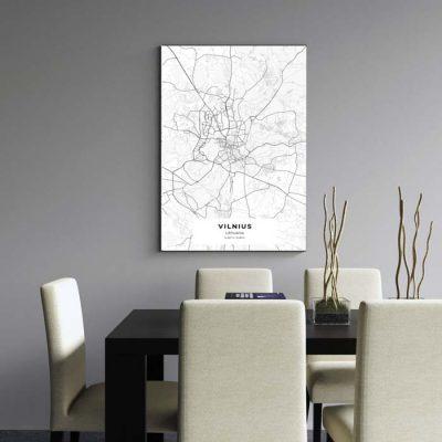 Miestų žemėlapiai, city map, canvas map, canada city canvas, miestas ant drobes, Dekoracija ant sienos, miestu zemelapis (17 of 27)