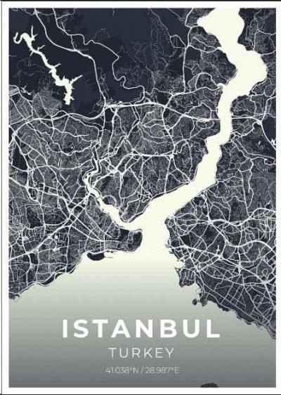 Miestų žemėlapiai, city map, canvas map, canada city canvas, miestas ant drobes, Dekoracija ant sienos, miestu zemelapis (20 of 27)