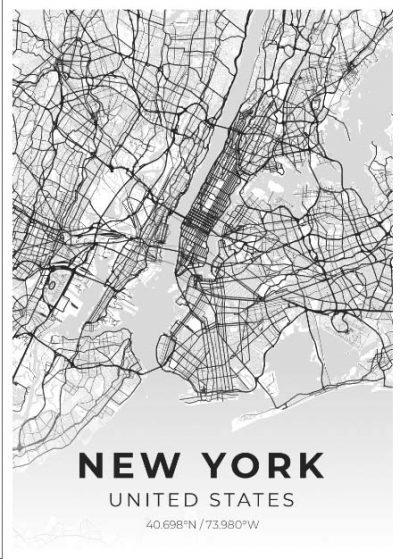 Miestų žemėlapiai, city map, canvas map, canada city canvas, miestas ant drobes, Dekoracija ant sienos, miestu zemelapis (21 of 27)