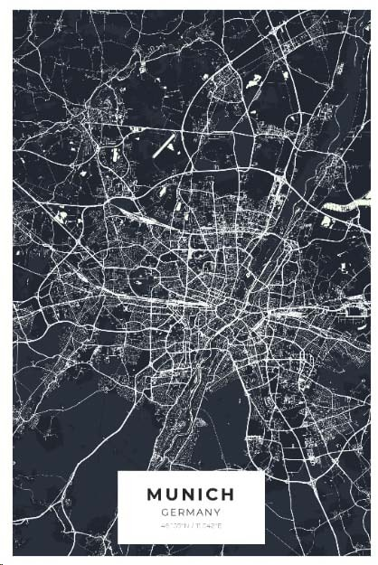 Miestų žemėlapiai, city map, canvas map, canada city canvas, miestas ant drobes, Dekoracija ant sienos, miestu zemelapis (24 of 27)