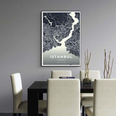 Miestų žemėlapiai, city map, canvas map, canada city canvas, miestas ant drobes, Dekoracija ant sienos, miestu zemelapis (3 of 27)