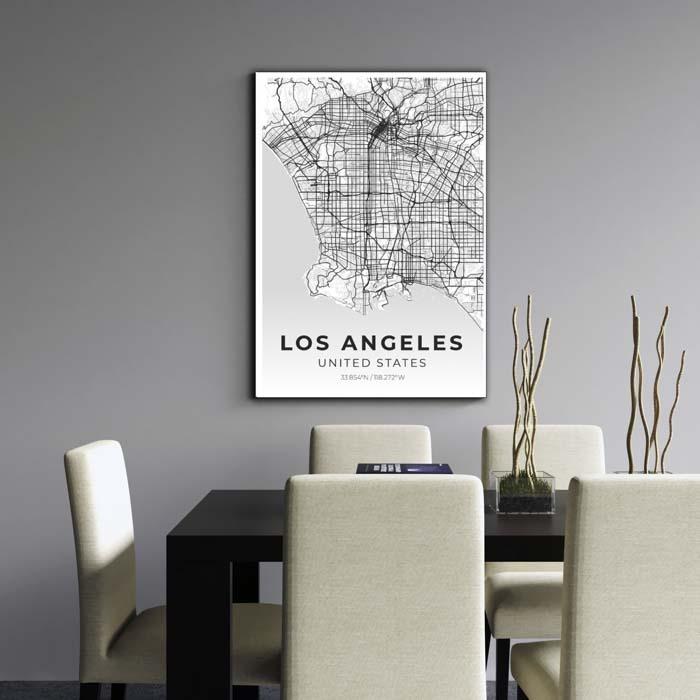 Miestų žemėlapiai, city map, canvas map, canada city canvas, miestas ant drobes, Dekoracija ant sienos, miestu zemelapis (5 of 27)