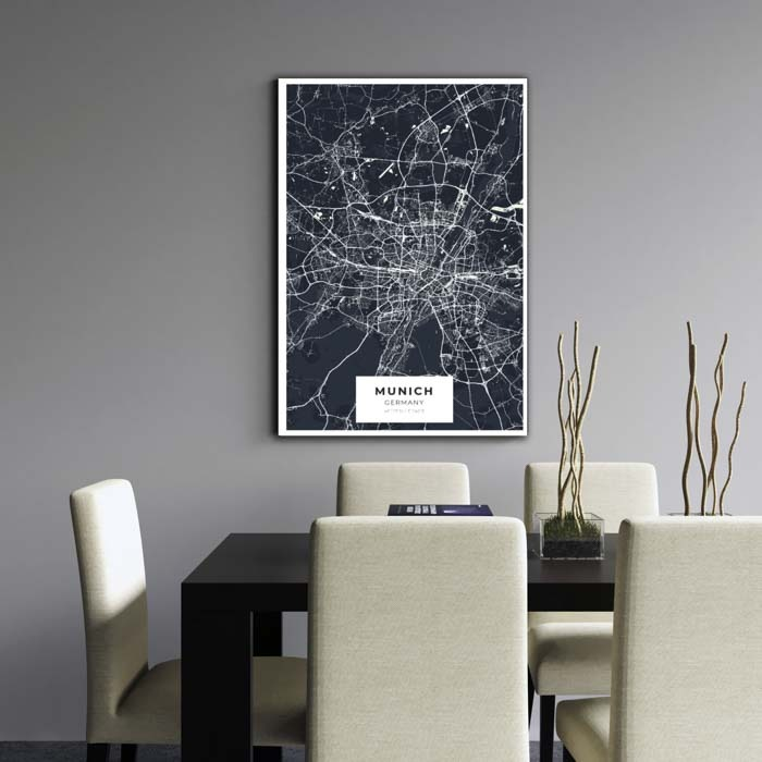 Miestų žemėlapiai, city map, canvas map, canada city canvas, miestas ant drobes, Dekoracija ant sienos, miestu zemelapis (7 of 27)