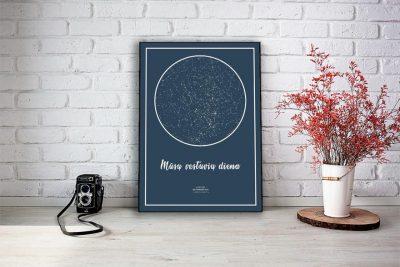 zvaigzdziu zemelapiai, žvaigdžių žemėlapis,žvaigždės ant drobės, imprimera.shop, (4 of 5)